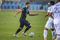 SAN JOSE, CA - SEPTEMBER 13: Vako Qazaishvili #11 of the San Jose Earthquakes during a game between Los Angeles Galaxy and San Jose Earthquakes at Earthquakes Stadium on September 13, 2020 in San Jose, California.