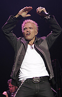 April 2005 file photo -  Billy Idol in concert