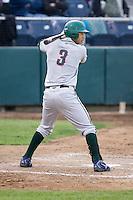 June 22, 2008: The Boise Hawks' Marwin Gonzalez at-bat during a Northwest League game against the Everett AquaSox at Everett Memorial Stadium in Everett, Washington.