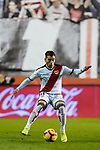 Adrian Embarba Blazquez of Rayo Vallecano in action during the La Liga 2018-19 match between Rayo Vallecano and FC Barcelona at Estadio de Vallecas, on November 03 2018 in Madrid, Spain. Photo by Diego Gouto / Power Sport Images