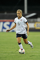 Kristie Mewis (8) of the USWNT.  The USWNT defeated Mexico 7-0 during an international friendly, at RFK Stadium, Tuesday September 3 , 2013.