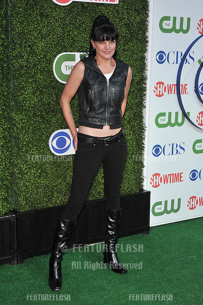 """""""NCIS"""" star Pauley Perrette at CBS TV Summer Press Tour Party in Beverly Hills. .July 28, 2010  Los Angeles, CA.Picture: Paul Smith / Featureflash"""
