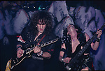 Vivian Campbell performing with Dio at The Beacon Theater in New York City Nov 1983.