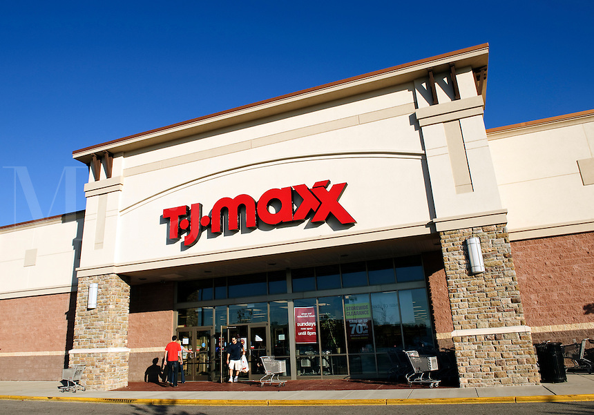 TJ Max discount clothing retailer.