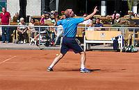 August 24, 2014, Netherlands, Amstelveen, De Kegel, National Veterans Championships, warming up in front of the clubhouse<br /> Photo: Tennisimages/Henk Koster