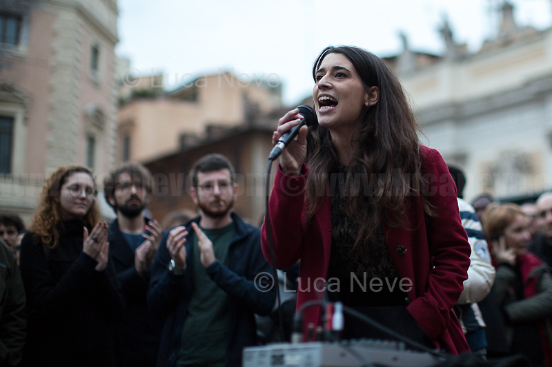 Federica, Activist.<br />