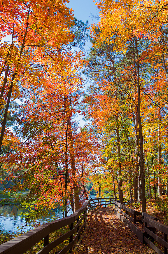This image taken at Mirror Lake State Park was selected by the Wisconsin Department of Natural Resources to be featured on the front cover of the Wisconsin State Park System Visitor Activity Guide in 2013.