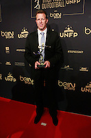 OLIVIER THUAL elu Meilleur Arbitre de ligue 2 - 25eme Ceremonie des Trophees UNFP au Pavillon Gabriel