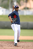 March 20th 2008:  Rafael Perez of the Cleveland Indians during a Spring Training game at Chain of Lakes Park in Winter Haven, FL.  Photo by:  Mike Janes/Four Seam Images