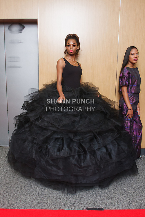 Models pose at the Teachers Rock The Runway fashion show presented by the United Federation of Teachers, at 52 Broadway in New York City, on May 31st 2018.