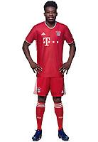 26th October 2020, Munich, Germany; Bayern Munich official seasons portraits for season 2020-21;  Alphonso Davies