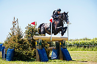 AUS-Sammi Birch rides The Kincooley Ceili during the Cross Country for the CCI-S 4*. 2021 GBR-Bicton International Horse Trials. Devon. Great Britain. Sunday 13 June. Copyright Photo: Libby Law Photography