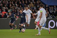 28th September 2021, Parc des Princes, Paris, France: Champions league football, Paris-Saint-Germain versus Manchester City:  Rodri ( 16 - Manchester City ) is taken on by Lionel Messi ( 30 - PSG )