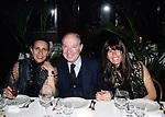CARLO GIOVANELLI E ROSI GRECO <br /> COMPLEANNO ELSA MARTINELLI AL JEFF BLYNN'S   ROMA 2000