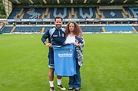 Sam Wood of Wycombe Wanderers during the Wycombe Wanderers 2016/17 Team & Individual Squad Photos at Adams Park, High Wycombe, England on 1 August 2016. Photo by Jeremy Nako.