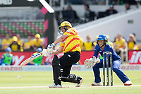 Rachel Priest, Trent Rockets flays the ball through the off side during London Spirit Women vs Trent Rockets Women, The Hundred Cricket at Lord's Cricket Ground on 29th July 2021