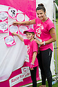 Race For Life 2016 : Callendar Park..... Emma and Niamh McGurk (9) from Grangemouth put there message up on the memory board.
