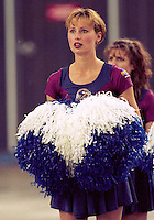 Montreal Alouettes Cheerleader 1996. Photo John Bradley
