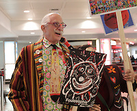 Patch Adams visit Montreal, March 27, 2014.<br /> <br /> <br /> File Photo :  Agence Quebec Presse - Pierre Roussel