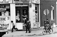 1979 FILE PHOTO - ARCHIVES -<br /> <br /> Montréal, Québec ; East End children;<br /> <br /> <br /> Bezant, Graham<br /> Picture, 1979<br /> <br /> 1979,<br /> <br /> PHOTO : Graham Bezant - Toronto Star Archives - AQP