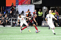 ATLANTA, GA - OCTOBER 30: Toronto FC defeated Atlanta United FC 2-1 in the MLS Eastern Conference Final game at Mercedes-Benz Stadium.