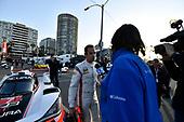#7 Acura Team Penske Acura DPi, P: Helio Castroneves, local TV interview.