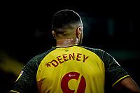 7th November 2020; Vicarage Road, Watford, Hertfordshire, England; English Football League Championship Football, Watford versus Coventry City; Troy Deeney (Watford)