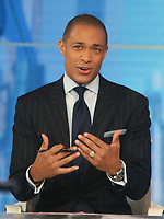 Aprl 05, 2021. T.J. Holmes at Good Morning America in New York April 05, 2021 Credit:RW/MediaPunch