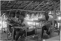 Campada college on the northern frontline, Guinea-Bissau - summer 1973,