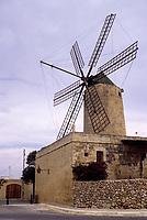Xaghra, Gozo. - Ta Kali Windmill, built 1725.