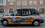 Taxis londrinos. Londres. Foto de Manuel Lourenço.