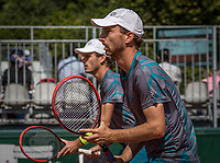 Paris, France, 31 May, 2017, Tennis, French Open, Roland Garros, Man's doubles Wesley Koolhof (NED) / Matwe Middelkoop (NED) (R)<br /> Photo: Henk Koster/tennisimages.com