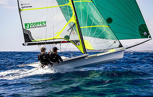 An inspiration in dark times – Rob Dickson and Sam Waddilove saw the year of Olympic postponement as an opportunity to up their game to the stage where they secured the Men's 49er place in Lanzarote