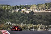 8th October 2021; Formula 1 Turkish Grand Prix 2021 free practise at the Istanbul Park Circuit, Istanbul;  LECLERC Charles mco, Scuderia Ferrari SF21