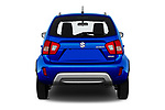 Straight rear view of 2020 Suzuki Ignis GL+ 5 Door Hatchback Rear View  stock images