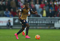 Joel Campbell of Arsenal during the Barclays Premier League match between Swansea City and Arsenal played at The Liberty Stadium, Swansea on October 31st 2015
