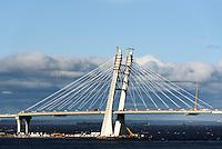Brücke am Hafen von St. Petersburg, Russland