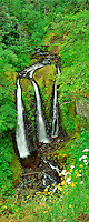 Triple Falls. Columbia River Gorge National Scenic Area, Oregon.