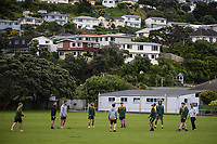 Action from the Hazlett Trophy Wellington premier men's division two cricket one-day match between Victoria University and Eastern Suburbs at Miramar Park in Wellington, New Zealand on Saturday, 7 November 2020. Photo: Dave Lintott / lintottphoto.co.nz
