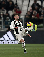 Calcio, Serie A: Juventus - Chievo Verona, Turin, Allianz Stadium, January 21, 2019.<br /> Juventus' Federico Bernardeschi in action during the Italian Serie A football match between Juventus and Chievo Verona at Torino's Allianz stadium, January 21, 2019.<br /> UPDATE IMAGES PRESS/Isabella Bonotto