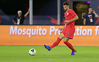 WASHINGTON, D.C. - OCTOBER 11: Matt Miazga #3 of the United States passes off a ball during their Nations League game versus Cuba at Audi Field, on October 11, 2019 in Washington D.C.