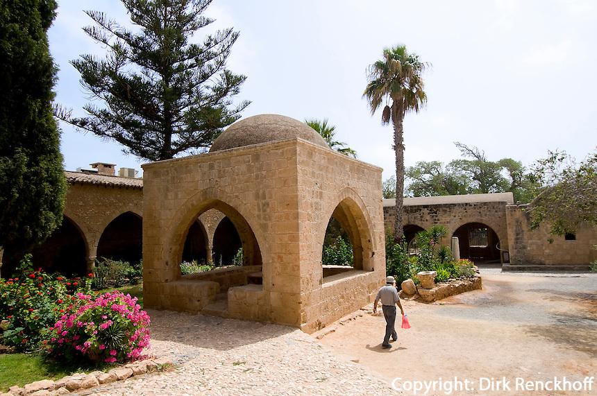Zypern (Süd), Kloster in Agia Napa, Brunnen