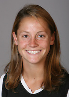 STANFORD, CA - NOVEMBER 4:  Julie Christy of the Stanford Cardinal lacrosse team poses for a headshot on November 4, 2008 in Stanford, California.