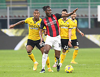 Milano 03-03-2021<br /> Stadio Giuseppe Meazza<br /> Serie A  Tim 2020/21<br /> Milan - Udinese<br /> nella foto: Soualiho Meite                                                       <br />   Antonio Saia
