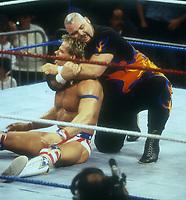 Warlord vs Texas Tornado 1993, Photo By John Barrett/PHOTOlink