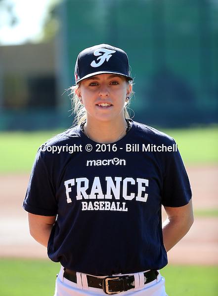 Mellssa Mayeux - 2016 French National Team (Bill Mitchell)