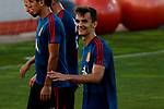 Diego Llorente during the Trainee Session at Ciudad del Futbol in Las Rozas, Spain. September 02, 2019. (ALTERPHOTOS/A. Perez Meca)