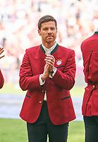 Xabi Alonso bei FCB Legenden <br /> FC BAYERN MUENCHEN - VFB STUTTGART 1-4<br /> Football 1. Bundesliga , Muenchen,12.05.2018, 34. match day,  2017/2018, , 28.Meistertitel, <br />   *** Local Caption *** © pixathlon