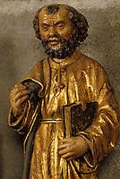 Europe/France/Auvergne/63/Puy-de-Dôme/Clermont-Ferrand: Cathédrale Notre-Dame-de-l'Assomption - Détail statue de Saint Pierre