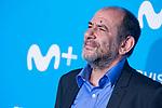 Karra Elejalde attends to blue carpet of presentation of new schedule of Movistar+ at Queen Sofia Museum in Madrid, Spain. September 12, 2018.  (ALTERPHOTOS/Borja B.Hojas)